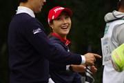 2017年 日本女子プロ選手権大会コニカミノルタ杯 事前 キム・ハヌル