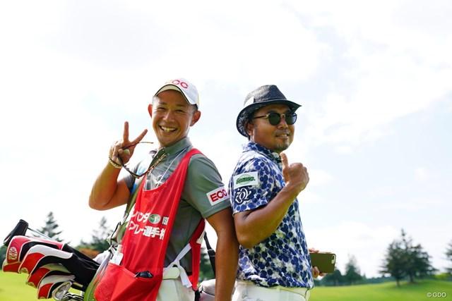 2017年 ISPSハンダマッチプレー選手権(3回戦・決勝) 3日目 片山晋呉 昨日ふたりで頑張った甲斐があったね。