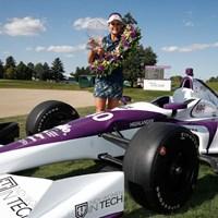 後続を1打差で振り切り、今季2勝目を手にしたL.トンプソン(Andy Lyons/Getty Images) 2017年 インディ女子インテック選手権 Presented by グッゲンハイム 最終日 レキシー・トンプソン