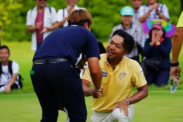 片山晋呉はリュー・ヒョヌを破って優勝。賞金ランキングは4位に浮上した