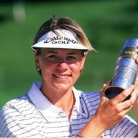 2000年大会優勝者のアニカ・ソレンスタム(Getty Images) 2017年 エビアン選手権 事前 アニカ・ソレンスタム