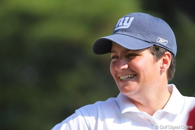 2009年 ミズノクラシック 2日目 メーガン・フランセラ おおっ? 表純子LPGAバージョンって感じ。