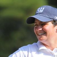 おおっ? 表純子LPGAバージョンって感じ。 2009年 ミズノクラシック 2日目 メーガン・フランセラ