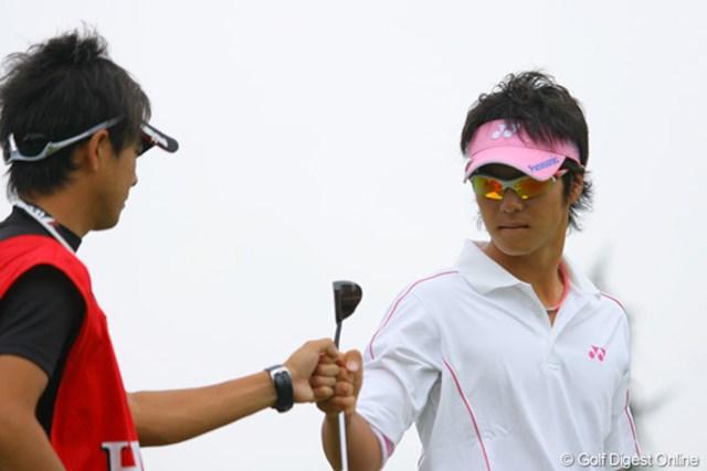 2009年 WGCHSBCチャンピオンズ3日目 石川遼 3番でバーディを奪った石川遼。18ホール、集中したプレーで上位に食らい付いている
