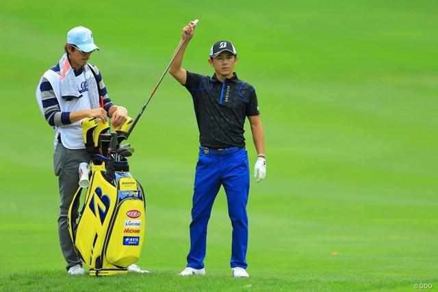 2017年 ANAオープンゴルフトーナメント 初日 近藤共弘 9位の好位置で初日を終えた近藤共弘。今季は故障との戦いが続いている