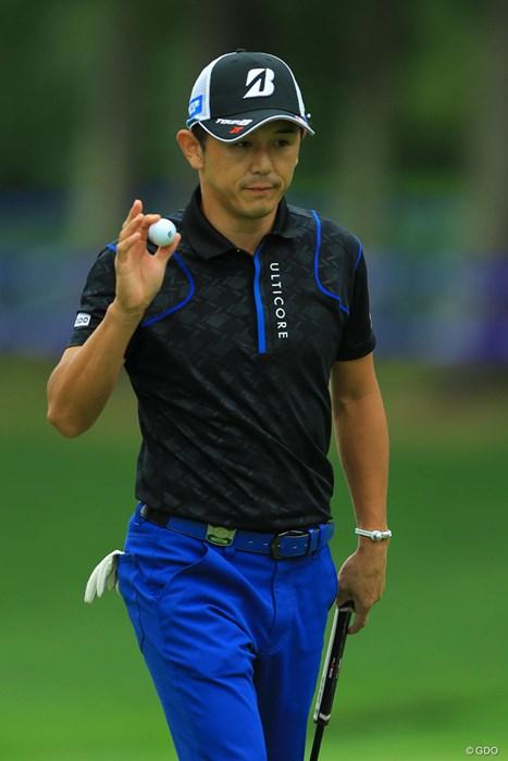 久々のナイスプレーでしたね。 2017年 ANAオープンゴルフトーナメント 初日 近藤共弘