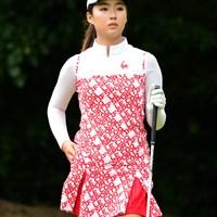 中国4000年の歴史が生んだ17歳の美少女ゴルファーも、残念ながら最下位。 2017年 マンシングウェアレディース東海クラシック 初日 ジー・イーファン