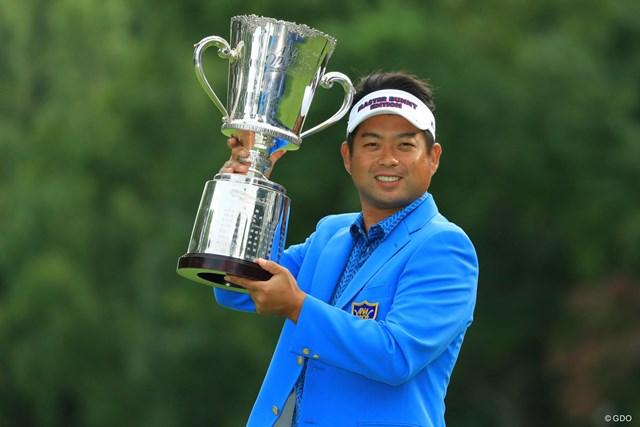ツアー通算18勝目を挙げた池田勇太