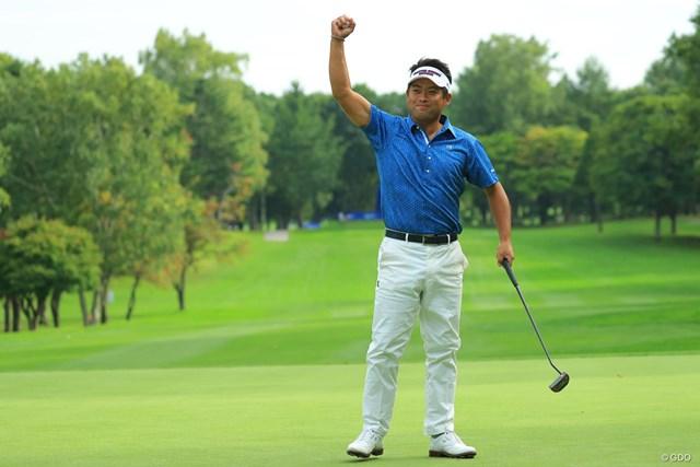 2017年 ANAオープンゴルフトーナメント 最終日 池田勇太 2ホールにわたったプレーオフを連続バーディで制し、今季2勝目を飾った池田勇太