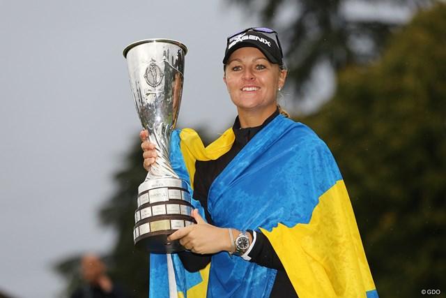 アンナ・ノルドクビストがプレーオフを制し、メジャー2勝目を挙げた