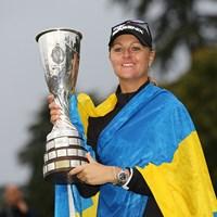 アンナ・ノルドクビストがプレーオフを制し、メジャー2勝目を挙げた 2017年 エビアン選手権 最終日 アンナ・ノルドクビスト