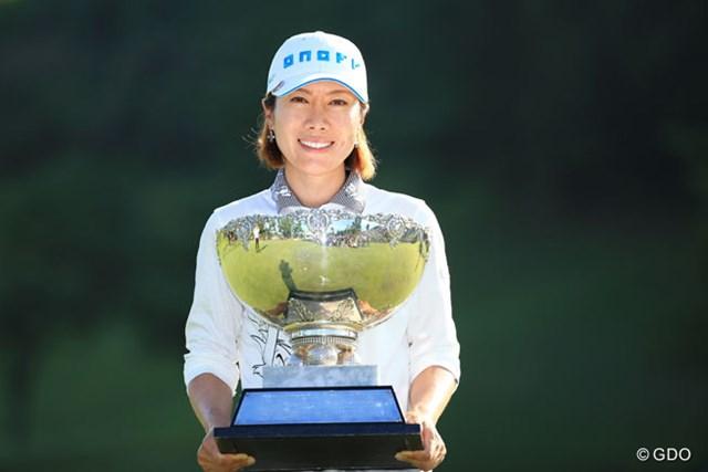 2017年 ミヤギテレビ杯ダンロップ女子オープン 事前 李知姫 昨年は李知姫が申ジエとのプレーオフを制し優勝した