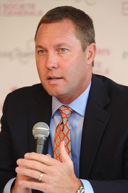 米LPGAのコミッショナー、マイク・ワン氏(Stuart Franklin/Getty Images)