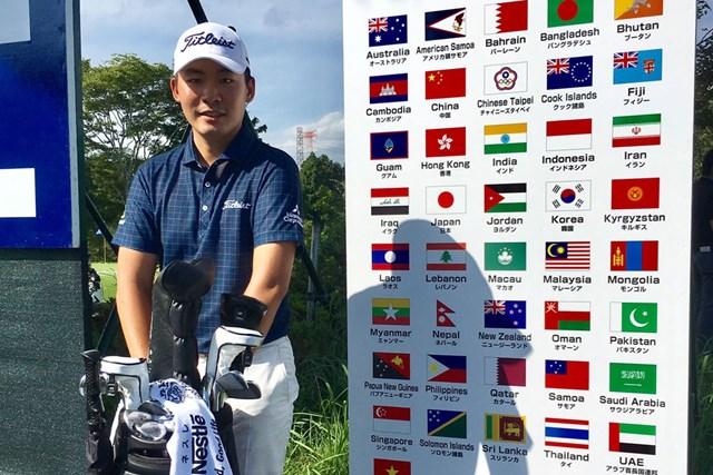 2017年 アジアパシフィック選手権ダイヤモンドカップ 事前 川村昌弘 今種は日本で開催されるアジアンツアーのひとつ。ホストプロとして頑張ります