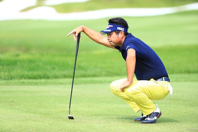 2017年 アジアパシフィック選手権ダイヤモンドカップ 初日 池田勇太 あっちこっちからライン確認