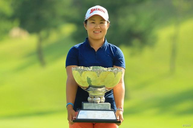 畑岡奈紗が最年少でツアー2勝目を挙げた