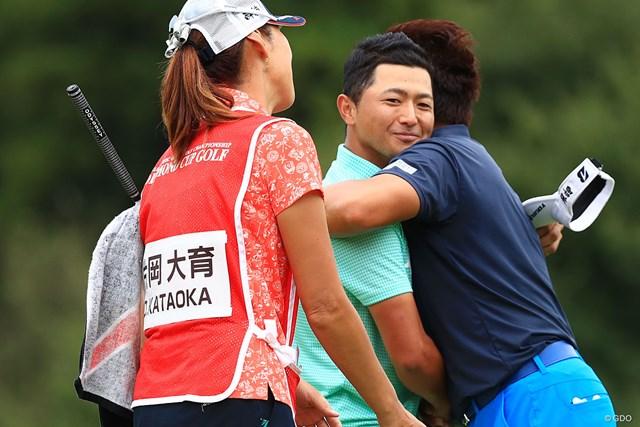 2017年 アジアパシフィック選手権ダイヤモンドカップ 最終日 片岡大育 大ちゃんの顔がなんともいえん