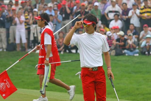 石川遼 2009年「WGC HSBCチャンピオンズ」最終日 持てる力は出し切った。それでも、世界のレベルは遥かに上だった