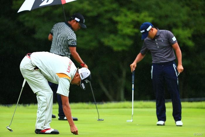 ゴルファーたるものマナーは絶対!芝はすぐ直せばすぐ回復しますからね 2017年 トップ杯東海クラシック 初日 マナー