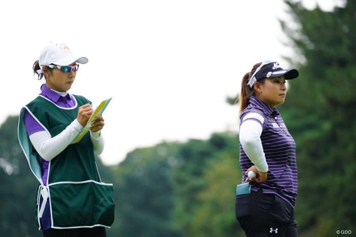 今週は馬場&馬場の姉妹コンビ。 2017年 日本女子オープンゴルフ選手権競技 初日 馬場ゆかり