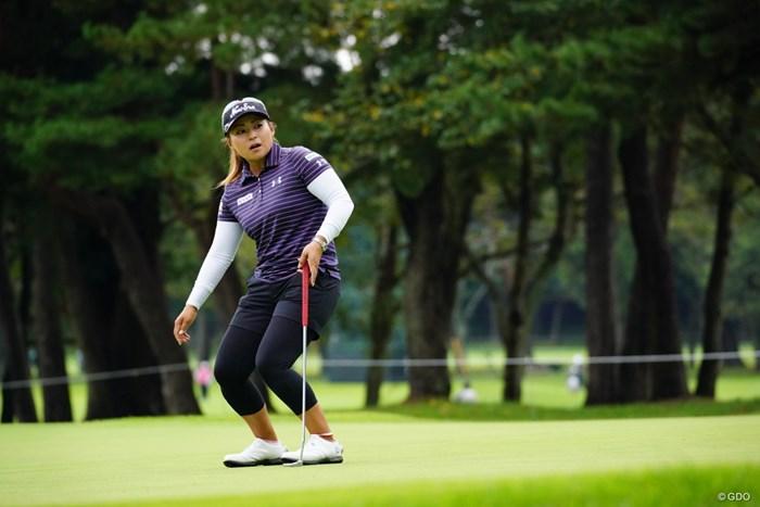 惜しい!いと惜しい! 2017年 日本女子オープンゴルフ選手権競技 初日 馬場ゆかり