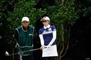 2017年 日本女子オープンゴルフ選手権競技 初日 飯島茜