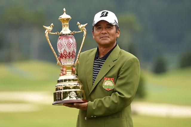 前年覇者の真板潔は不在。優勝カップを手にするのは? ※画像提供:日本プロゴルフ協会