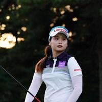 サスペの音が鳴った後でもやりたくて仕方がない様子だった。 2017年 日本女子オープンゴルフ選手権競技 2日目 チェ・ヘジン