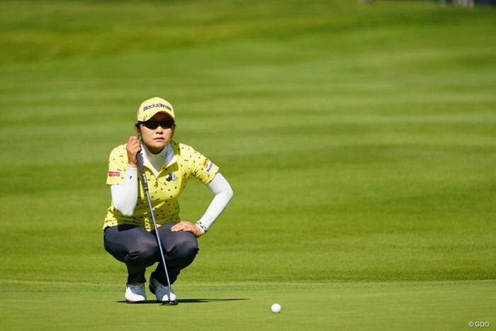 この後ながーいバーディパット入れた。 2017年 日本女子オープンゴルフ選手権競技 2日目 藤田幸希