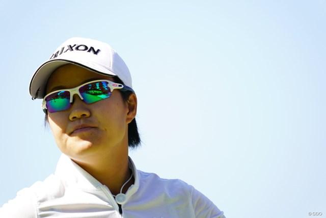 2017年 日本女子オープンゴルフ選手権競技 2日目 畑岡奈紗 一瞬TOSHIに見えた。