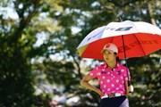 2017年 日本女子オープンゴルフ選手権競技 2日目 堀琴音