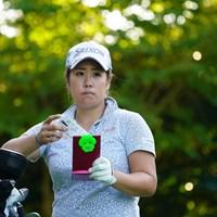 ガチャピンのクリップ。 2017年 日本女子オープンゴルフ選手権競技 2日目 柳澤美冴