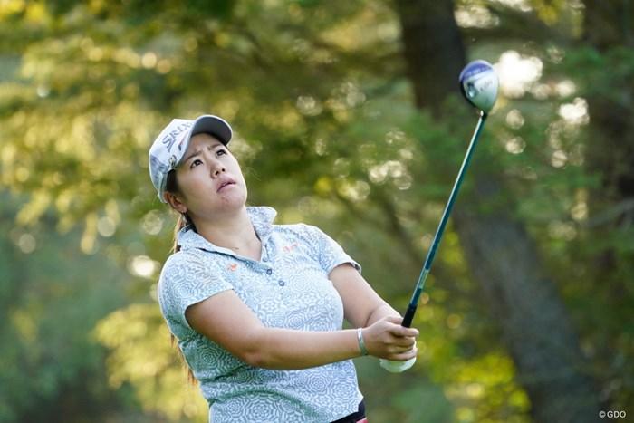 今週は自宅通勤だからプレーもいいね。 2017年 日本女子オープンゴルフ選手権競技 2日目 柳澤美冴