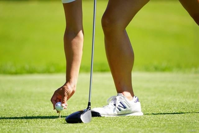 2017年 日本女子オープンゴルフ選手権競技 2日目 有村智恵 すいません、この写真で誰だかわかります。
