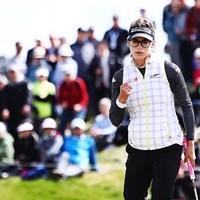1打差に詰め寄られながらも首位をキープしたベレン・モゾ (Hannah Peters/Getty Images) 2017年 マッケイソン ニュージーランド女子オープン 3日目 ベレン・モゾ