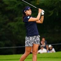 他のプロスポーツでも似合うね。 2017年 日本女子オープンゴルフ選手権競技 3日目 チョン・インジ