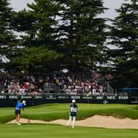 ほんとこのコースは綺麗だ。 2017年 日本女子オープンゴルフ選手権競技 3日目 安田佑香