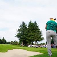 お尻側から失礼します。 2017年 日本女子オープンゴルフ選手権競技 3日目 申ジエ