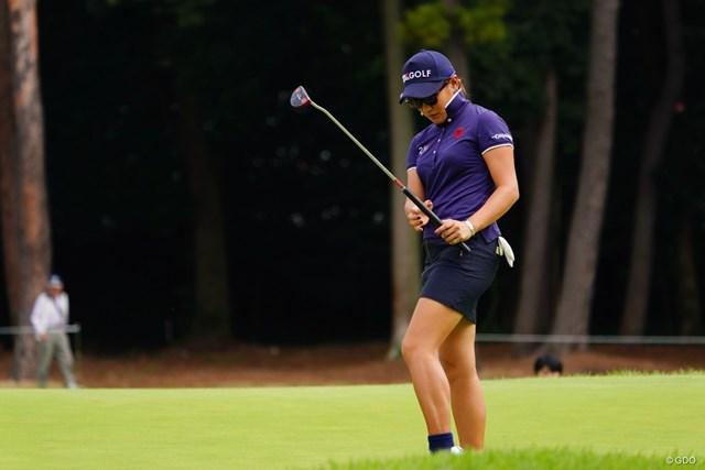 2017年 日本女子オープンゴルフ選手権競技 3日目 成田美寿々 7位に浮上した成田美寿々