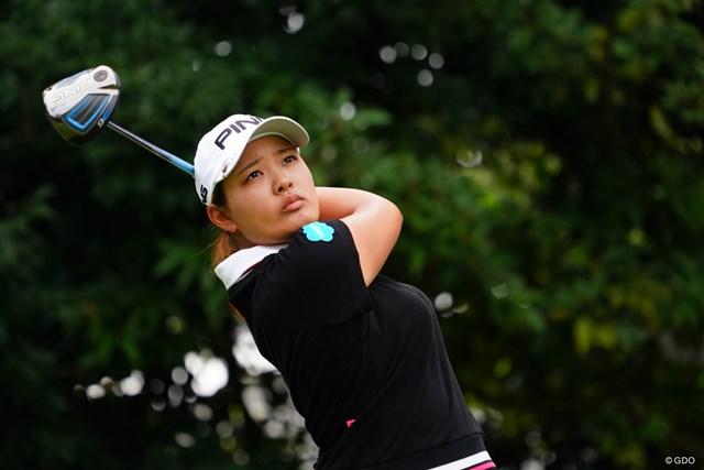 2017年 日本女子オープンゴルフ選手権競技 3日目 鈴木愛 まだまだ優勝狙える位置にいるね。
