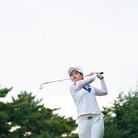 純白のウェアに白いバック。 2017年 日本女子オープンゴルフ選手権競技 最終日 チェ ヘジン