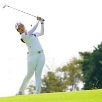彼女もほんと小さい体なのに飛ばし屋だね。 2017年 日本女子オープンゴルフ選手権競技 最終日 チェ・ ヘジン