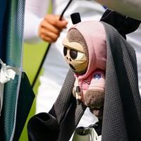 不気味なヘッドカバー発見。 2017年 日本女子オープンゴルフ選手権競技 最終日 チェ・ ヘジン