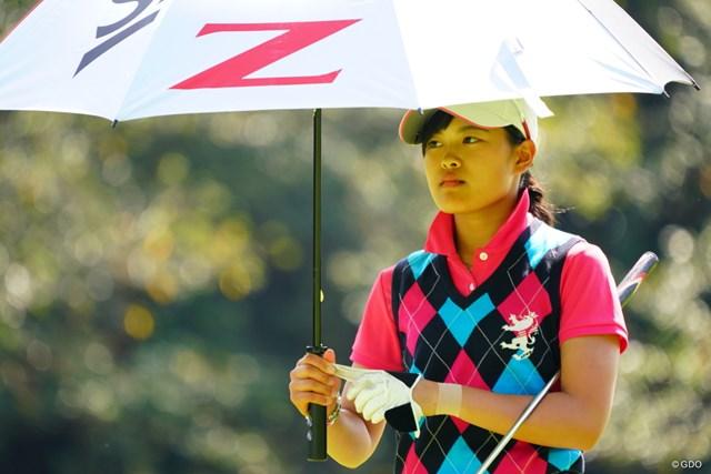 2017年 日本女子オープンゴルフ選手権競技 最終日 小倉彩愛 ほんと立派なスコアでフィニッシュ。