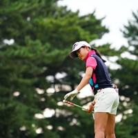 小学生時代から続けるルーティンを守り続ける小倉彩愛 2017年 日本女子オープンゴルフ選手権競技 最終日 小倉彩愛