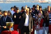 2017年 ザ・プレジデンツカップ 最終日 ドナルド・トランプ大統領 米国選抜