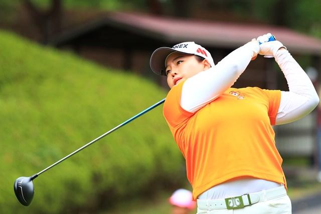 過去2勝の好相性大会でアン・ソンジュは首位タイの好発進を決めた