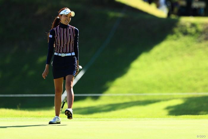 地元が一緒なんで 2017年 スタンレーレディスゴルフトーナメント 2日目 鎌田ハニー