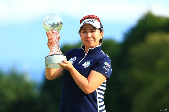 2017年 スタンレーレディスゴルフトーナメント 最終日 吉田弓美子 逆転で今季2勝目を挙げた吉田弓美子