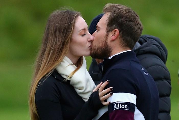 ティレル・ハットンが大会連覇を成し遂げた(Richard Heathcote/Getty Images) 2017年 アルフレッド・ダンヒル リンクス選手権 最終日 ティレル・ハットン